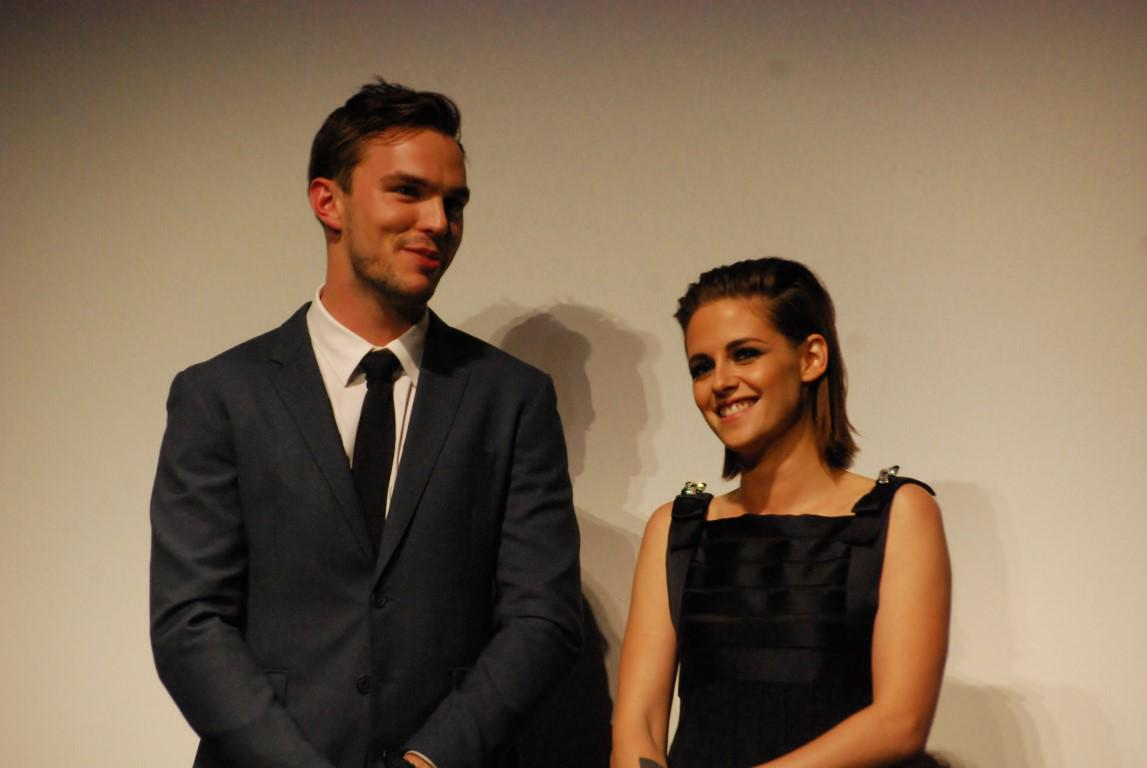 Who's more gorgeous? Vote now. #Equals #TIFF15 Kristen Stewart & Nicholas Hoult. Triumphant. Elegant. Breathtaking. http://t.co/eGZn2Y4jcp