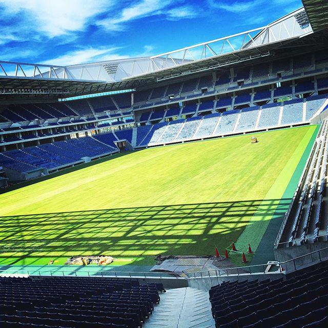 ガンバ大阪の新スタジアムがほぼ完成 これは日本一のサカスタですわ
