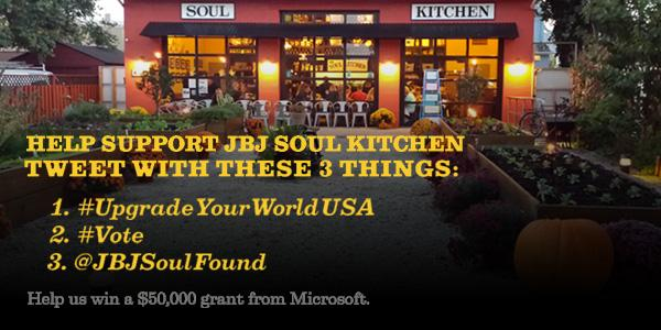 Help #JBJSoulKitchen continue to do great things & win $50,000! Vote daily here: http://t.co/48jsUbHwmV http://t.co/OQlwfLXjpg