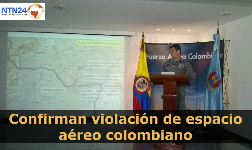 NTN24 Colombia (@NTN24co): .@FuerzaAereaCol confirma nueva violación de espacio aéreo por parte de aviones venezolanos http://t.co/Q8R0xhOybG http://t.co/oYfap1xT8f