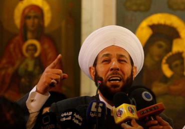 """""""No war is Holy, only Peace.""""  - Syria's Grand Mufti Hassoun - http://t.co/YAT59AliNh"""