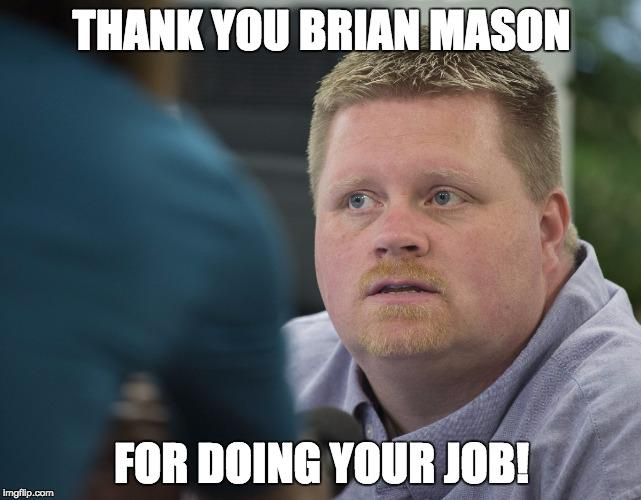 Enough about her! Let's all give a shoutout to Rowan Co. deputy clerk Brian Mason for doing his job! RT for #love http://t.co/Ov3gWDjw2l