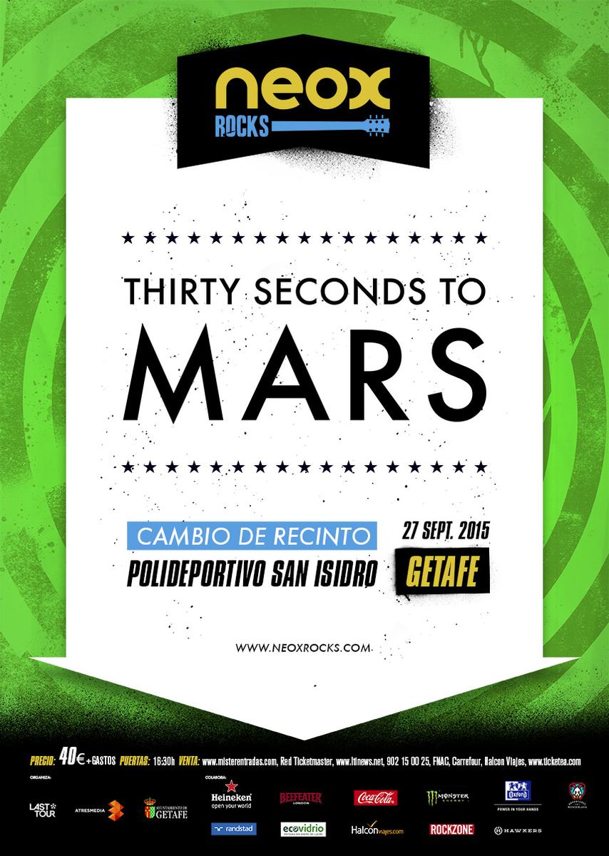 ???? Cambio de recinto a MARS en GETAFE: Polideportivo Municipal San Isidro! Quién vendrá? — VIP: http://t.co/k0LeCfTEQ5 http://t.co/I2PRJXMJZh