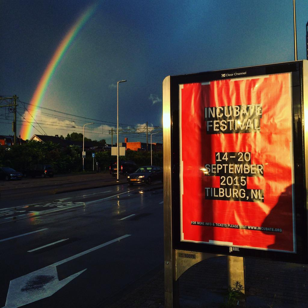 Legends say there is a city brimming with culture at the end of that rainbow. #Tilburg #INCU15 http://t.co/Lf5oCkerjZ