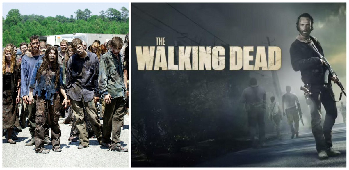 Remember #IfTheZombiesAttack be caught up on all episodes of @WalkingDead_AMC to know what to do LOL http://t.co/LLCUB4RX4d