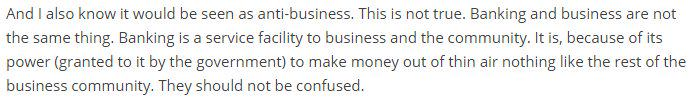 That @RichardJMurphy makes a point that isn't made enough, about banks not being the same as business: http://t.co/DuJRZSwcNn