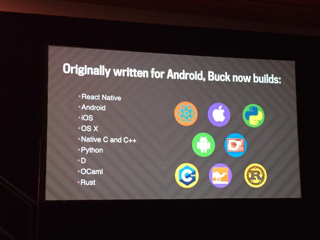Buck just got bigger. #atscale2015 http://t.co/qtixNJrOcJ