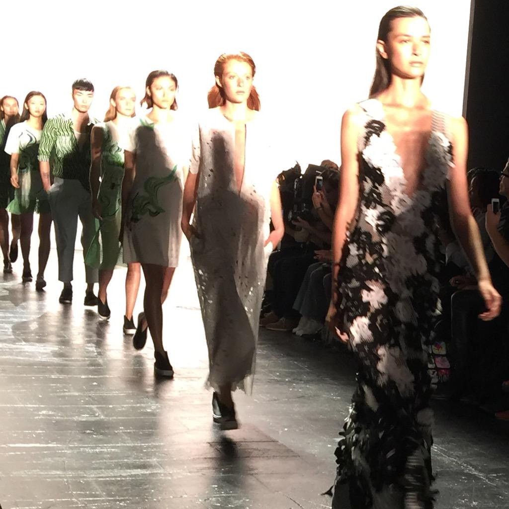 Enjoyed seeing the @VivienneTam show #NYFW She was one of our first designers at @Gilt back in 2008! http://t.co/by7yTndGFo