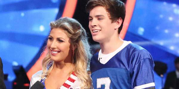 No big deal, just @HayesGrier being the youngest competitor on #DWTS, and still killin' it!   http://t.co/9gSGRapzWQ http://t.co/YhqN4kb2I1