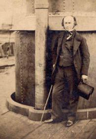 Brunel died #OnThisDay 1859. Pic taken a week before he died. #Bristol is built on his imagination and genius. http://t.co/DIpW5oEe19