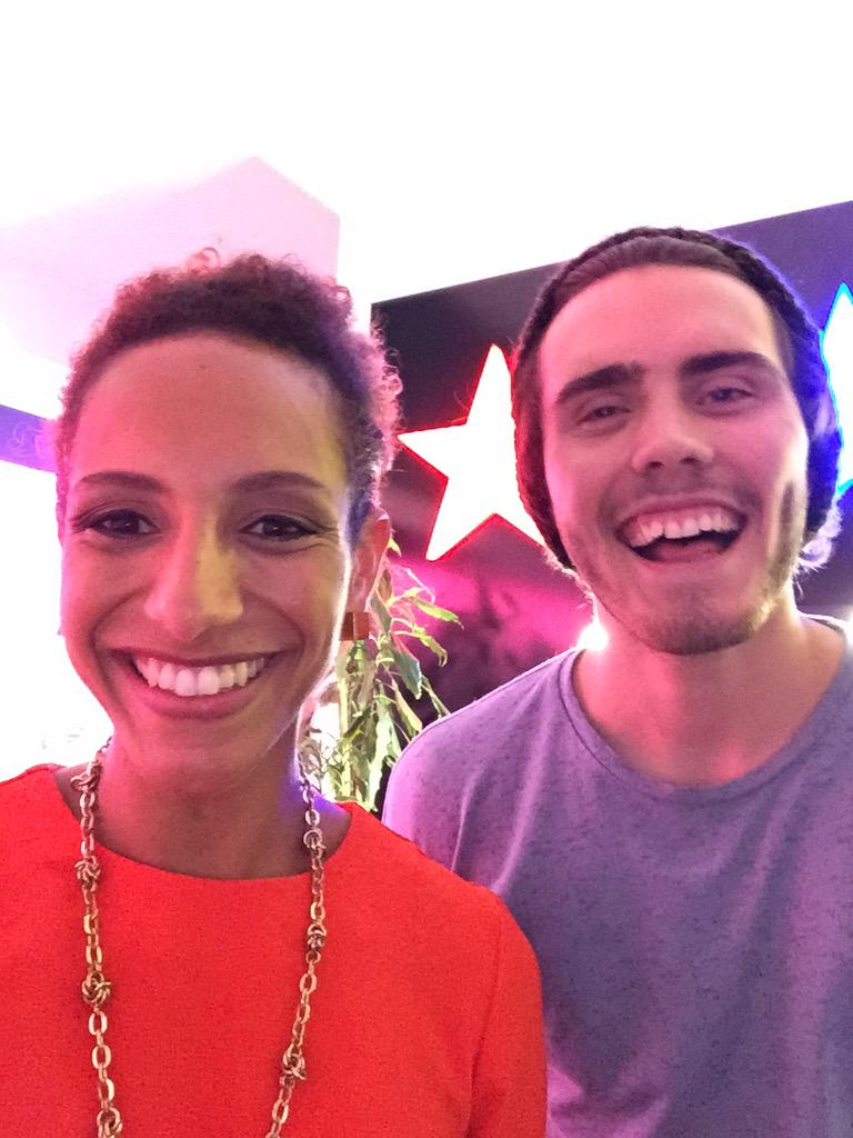 Chatting about the future of social media and news with Alfie Deyes @PointlessBlog @SkyAcademy http://t.co/osmsJJBVs8