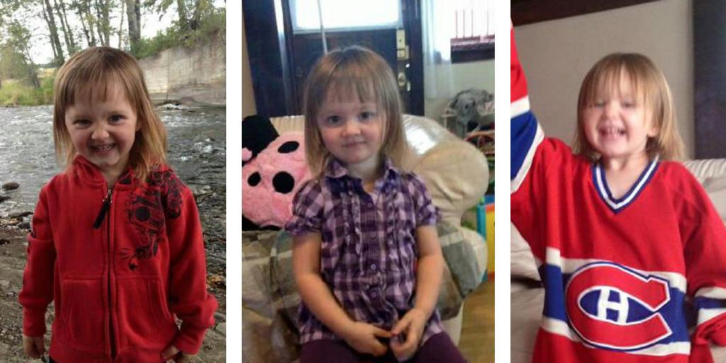Let's get this face all over the Internet. AMBER ALERT continues for abducted 2 year old Hailey Dunbar-Blanchette. http://t.co/W7gifS0yFD