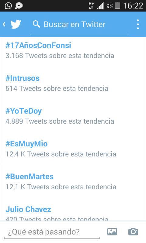 en #Argentina somos tendencia!!!! #17añosConFonsi ♡♥♡♥♡♥ @LuisFonsi todo por vos!!!! http://t.co/QIt36ujoWj
