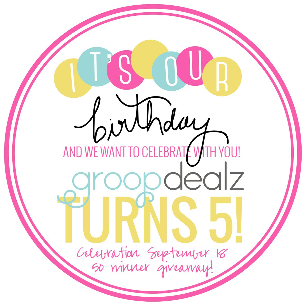 It's Birthday Week at Groopdealz and we want to celebrate with you! 50 Winner #giveaway!   http://t.co/5qmnktomV8 http://t.co/2ON8oW3qIR