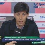 "#SanLorenzo Barrientos, en la previa ante #Boca: ""El empate no nos deja afuera"". Escuchalo: http://t.co/SgOZWgSZ8S http://t.co/p95s2Gq5HU"