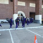 The Horned Frogs have arrived at the stadium and we are just over two hours from kickoff. http://t.co/Blql8XKv65