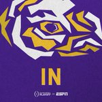 Who's IN? @LSUfball is IN to geaux all the way. #CFPonNYE http://t.co/QpvVvpNCBo