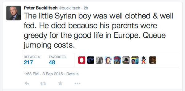 He's closed his account now of course, but here's a screen-grab of the UKIP candidate's thoughts. For the record. http://t.co/XzhaMZlWQB