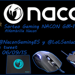 ¡ SORTEO #NaconGaming + Alfombrilla ! Instrucciones en la foto ! RT + FOLLOW Producto: http://t.co/UQNVs21xMG ¡GO! http://t.co/MAbzyl9VWl