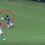 Foi Ricardo Marques Ribeiro, árbitro do Fla x Flu de domingo, que não marcou esse pênalti ano passado. Lembram? http://t.co/Z92SO8LZZY