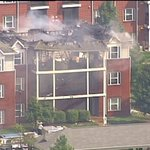 A 3 alarm fire is burning at the Long Acre Ponds Apartments in Fairview Heights. #STL http://t.co/B9ETxFuPPq