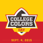 Tomorrow, National #CollegeColors Day is finally here!   RT if you will show your pride in Red, White, Black & Gold. http://t.co/uqPtcuMqVG