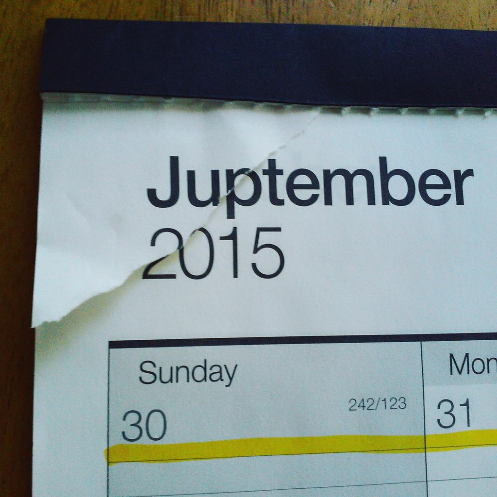 God, is it Juptember already? http://t.co/sGMQB8RBh5