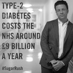 Type 2 diabetes is rising at an alarming rate & costs the NHS around £9 billion each year! #SugarRush http://t.co/OHpNIqYcia