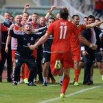 #TogetherStronger #GorauChwaraeCydChwarae f/t: Cyprus 0 - 1 Cymru Diolch @GarethBale11 http://t.co/s7iinoLs22