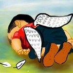 #HoraDoCafeZH: artistas fazem releitura de foto de menino sírio afogado http://t.co/Jbxd222kHK http://t.co/zfasls8REV