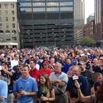The crowd for @stlstadium rally before @STLouisRams /Chiefs http://t.co/XB8SNXGR2z