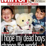 DAILY MIRROR: I hope my dead boys change the world #skypapers http://t.co/YyypRzWdv6