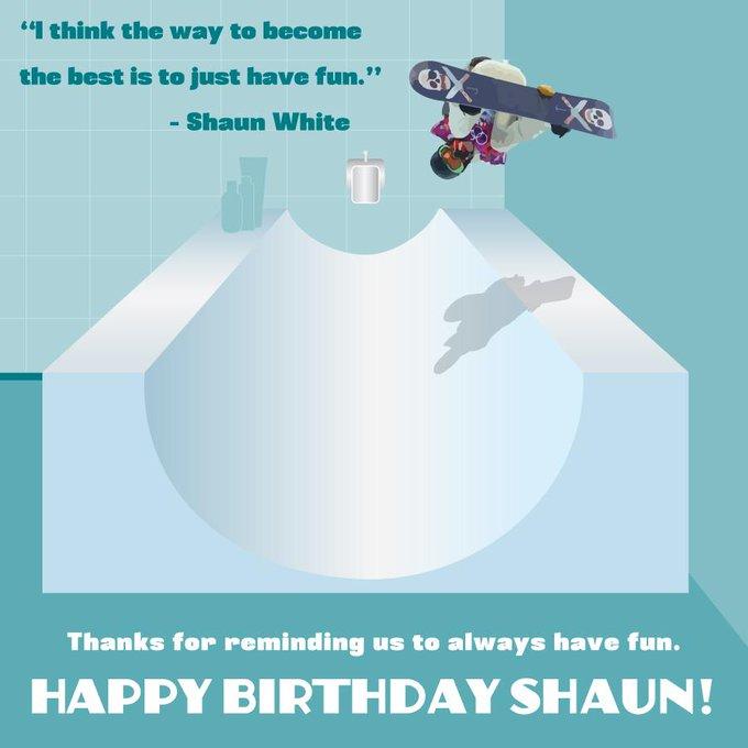 Happy Birthday Shaun White!