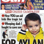THE SUN: For Aylan #skypapers http://t.co/o01Vv5CHAZ