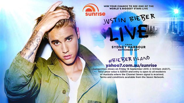.@justinbieber will PEFORM LIVE on @sunriseon7! And you can win tickets to see him! http://t.co/Ze1tIdjt1A #sun7 http://t.co/ObjQEnWUjd
