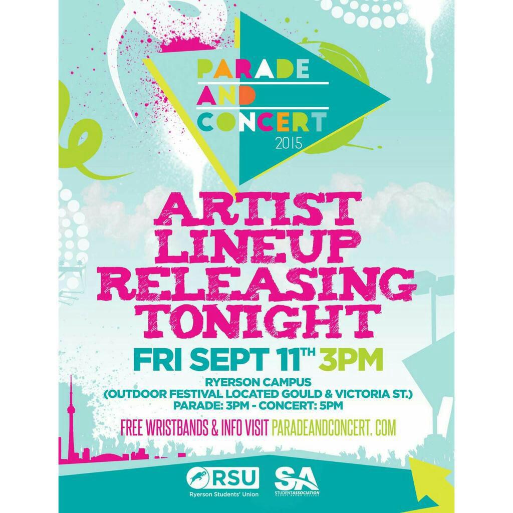 Artists and concert info out at 8pm at http://t.co/pwgrFP0bpI RT and FOLLOW to win VIP tickets! #SAWOW http://t.co/Y8cY6oJMaM