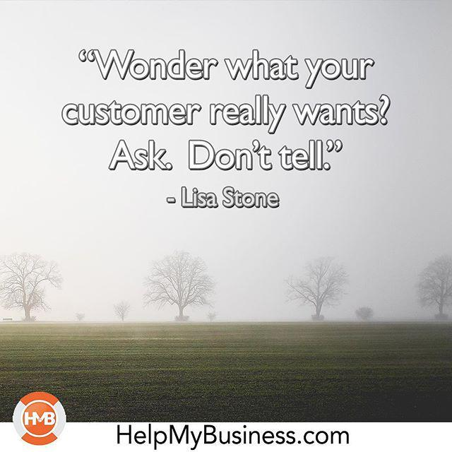 Survey your customers!  #motivational #inspiration #helpmybusiness #smallbusiness #entrepr… http://t.co/90SJr3KUW6 http://t.co/X1LjxSXBAR
