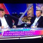 """""""La Argentina que soñamos es una Argentina federal"""" #AnimalesSueltos http://t.co/F9Y9MxNXU1"""