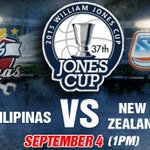 COMING UP: #GilasPilipinas takes on New Zealands Wellington Saints in the #JonesCup2015 at 1 pm. #LabanPilipinas http://t.co/Q5Nw0zFGR4