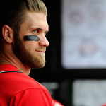 Bryce Harpers line tonight: 0/0, 4 BB, 4 R, 1 RBI on 20 pitches (he didnt swing once!) http://t.co/pUvxzLOe28 http://t.co/pn5g4Dm7p4