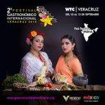 Sé parte del Festival Gastronómico Internacional #Veracruz 2015 del 10 al 13 de septiembre. @VeracruzTurismo http://t.co/twOIPx3iYO
