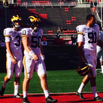 For the first time in 40 years, Michigan is breaking out the all-whites for Jim Harbaughs debut. (via @bobwojnowski) http://t.co/hXidsJfqFt