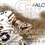 Justin Thomas scrambles 13 yards for a TOUCHDOWN!!! #TogetherWeSwarm #ALCNvsGT http://t.co/rTuU95NSoQ