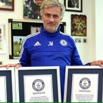 Jose Mourinho has been awarded 4 Guinness World Records.. http://t.co/RapuUcgB0H