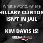 We must defend #ReligiousLiberty & never surrender to judicial tyranny! http://t.co/fYxFEng5gH #ImWithKim #KimDavis http://t.co/4r4wyWndAc