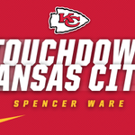 TOUCHDOWN KANSAS CITY! Spencer Ware punches it in for six. #KCvsSTL http://t.co/j784ljTuha