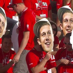 Jim Harbaugh is being trolled by Utah with Alex Smith heads and it's wonderful. http://t.co/RtrfKVk1Ua http://t.co/MXKLLSTUuF