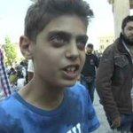 """El mensaje de un chico sirio: """"Sólo paren la guerra, que nosotros no queremos ir a Europa"""" http://t.co/HhZDhx71Z8 http://t.co/yDAThHpHAt"""