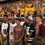 #Gophers hoops recruiting targets attending TCU game tonight, include locals Amir Coffey, Gary Trent Jr and Hurt bros http://t.co/VuoBLqAB28