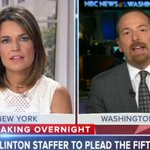 Chuck Todd: Hillary Clinton Aide Pleading The Fifth Doesn't Look Good [VIDEO] http://t.co/ZHTrrpNERc http://t.co/RbgWWMCXkx